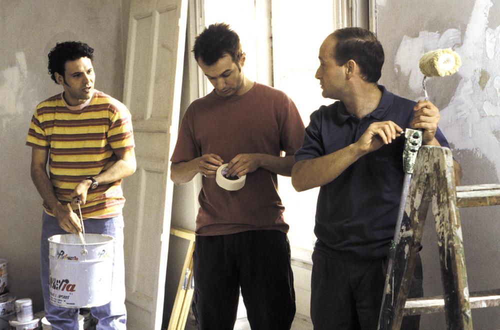 Tres pintores